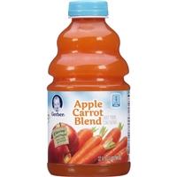 Gerber Apple Carrot Blend Harvest Juice Food Product Image