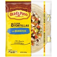Old El Paso Flour Tortillas - 8 CT Food Product Image