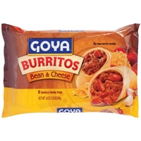 Goya Bean & Cheese Burritos, 24 oz Food Product Image