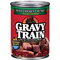 Gravy Train Chicken Chunks Dog And Puppy Food Food Product Image
