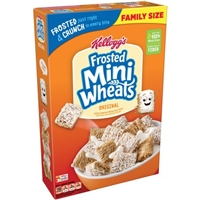 Kellogg's Frosted Mini Wheats Original Cereal Food Product Image