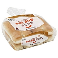 Lowes Foods Hotdog Buns Enriched Food Product Image
