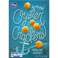 Kroger Oyster Crackers Reduced Sodium Food Product Image