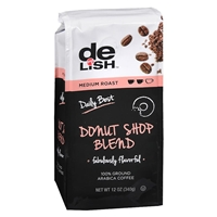 Good & Delish Ground Coffee Donut Blend Food Product Image