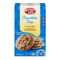 Enjoy Life Crunchy Cookies Chocolate Chip Food Product Image