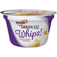 Fat Free Yogurt Mousse Vanilla Cupcake