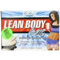 Labrada Nutrition Lean Body For Her, Hi-Protein Meal Replacement Shake Packets, Soft Vanilla Ice Cream, 1.7 Ounce Food Product Image