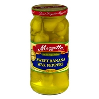 Mezzetta Sweet Banana Wax Peppers Food Product Image