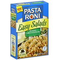 Pasta Roni Pasta & Dressing Mix Corkscrew, Roasted Garlic & Olive Oil Food Product Image