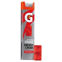 Gatorade Prime Fruit Punch Energy Chews 1 oz 6 ct Food Product Image