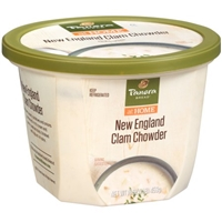 Panera Bread New England Clam Chowder Food Product Image