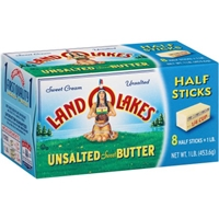 Land O Lakes Unsalted Sweet Butter Food Product Image