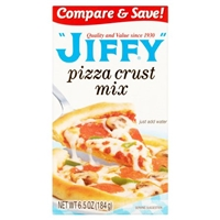 Jiffy Pizza Crust Mix Food Product Image