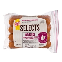 Oscar Mayer Selects Franks Angus Beef Food Product Image