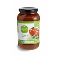 Simple Truth Organic Tomato Basil Pasta Sauce Food Product Image