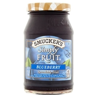 Smucker's Simply Fruit Spread Blueberry Food Product Image
