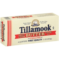 Tillamook Unsalted Butter Food Product Image