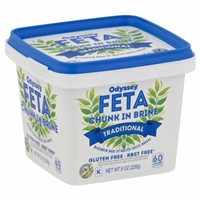 Odyssey Traditional Feta Cheese in Brine Food Product Image