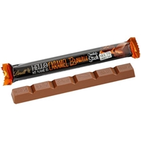 Lindt Hello My Name Is Caramel Brownies Chocolate Stick Food Product Image