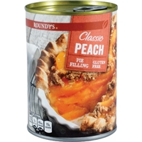 Roundy's Very Peach Pie Filling Food Product Image