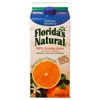 Florida's Natural Premium Calcium & Vitamin D No Pulp Orange Juice 59 oz Food Product Image