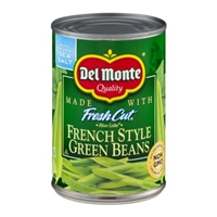 Del Monte Fresh Cut French Style Green Beans Food Product Image