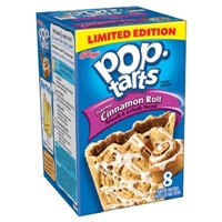 Pop-Tarts Frosted Cinnamon Roll Toaster Pastries 8 ct Food Product Image