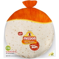Mission Tortillas Flour Medium Soft Taco Twin Pack 36 Ct Food Product Image