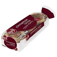 Big Y English Muffins Fork Split, Cinnamon Raisin Food Product Image