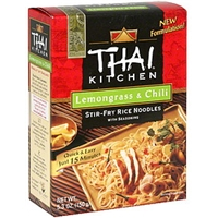 Thai Kitchen Stir-Fry Rice Noodles With Seasoning, Lemongrass & Chili Food Product Image