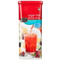 Sugar-Free Fruit Punch Drink Mix 2 oz - Market Pantry Food Product Image