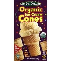 Let's Do...Organic Ice Cream Cones Organic - 12 CT Food Product Image