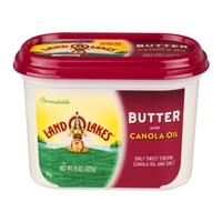 Land O Lakes Spread Butter With Canola Oil Food Product Image
