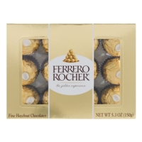 Ferrero Rocher Fine Hazelnut Chocolates Food Product Image