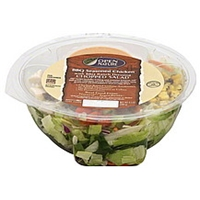 Open Nature Salad Chopped, Bbq Seasoned Chicken, With Bbq Ranch Dressing Food Product Image