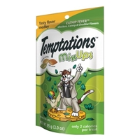 Temptations Mix Ups Chicken, Catnip & Cheddar Flavor Cat Treats Food Product Image