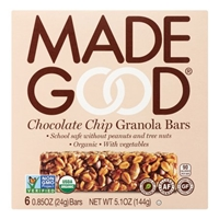 Made Good Organic Chocolate Chip Granola Bars Food Product Image