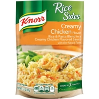 Knorr Rice Sides Creamy Chicken Flavor Food Product Image