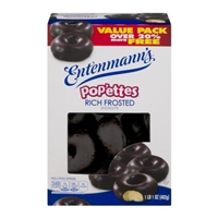 Entenmann's Pop'ettes Donuts Rich Frosted Food Product Image