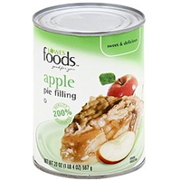 Lowes Foods Pie Filling Apple Food Product Image