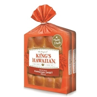 King's Hawaiian Hawaiian Sweet Rolls Food Product Image