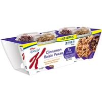 Special K Nourish Cinnamon Raisin Pecan Hot Cereal Food Product Image
