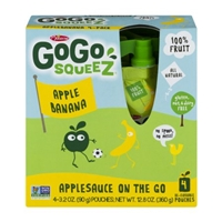 GoGo Squeez Applesauce On The Go Apple Banana - 4 CT Food Product Image
