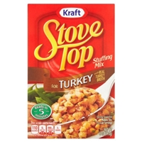 Kraft Stove Top Stuffing Mix For Turkey Food Product Image