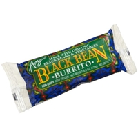 Amy's Black Bean Burrito Food Product Image