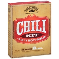 Carroll Shelby's Chili Kit Food Product Image