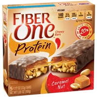 Fiber One Protein Chewy Bars Caramel Nut - 5 CT Food Product Image