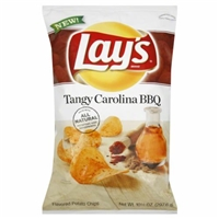 Lay's Tangy Carolina BBQ Chips Food Product Image