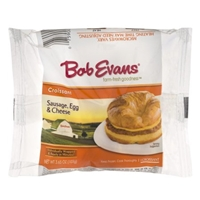 Bob Evans Croissant Sausage, Egg & Cheese Food Product Image