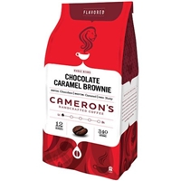 Cameron's Chocolate Carmel Brownie Whole Bean Coffee Food Product Image